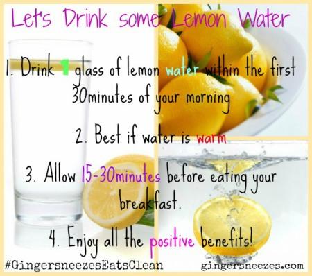 lemon-water-collage